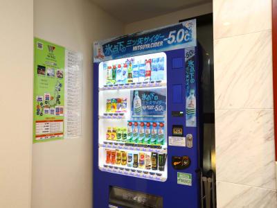 自動販売機 - ホテルウィング上野・御徒町 テレワーク用客室 #1の設備の写真
