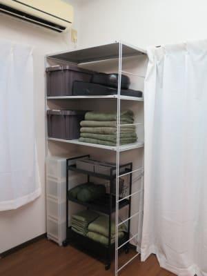貸し出し自由な備品を多数用意しております。   - レンタルサロン 棗伽souca 多目的スペースの設備の写真