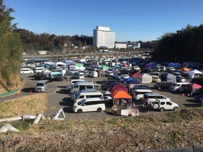 参加者多数でも駐車スペースは心配ありません! - サン・ポート F区画(約3,300㎡)の室内の写真