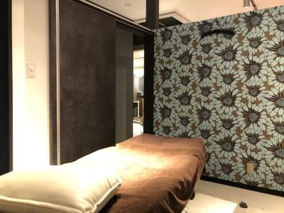 salon de SOL ブース3の室内の写真