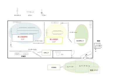 こちらの会議室は貸し会議室特Bエリアです。 - 豊強ビル 豊強ビル貸会議室特Bの室内の写真