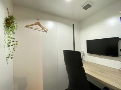 タイムシェアリング秋葉原奥山ビル テレワークブース A(大)の室内の写真