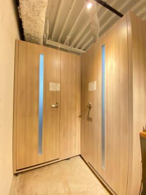 タイムシェアリング秋葉原奥山ビル テレワークブース B(小)の入口の写真