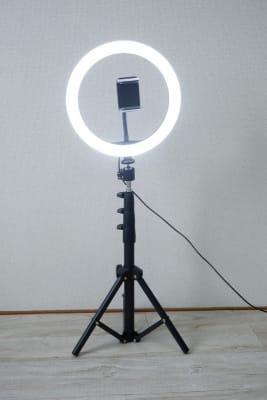 リングライトは明かりが3種類選べます。 - 京橋レンタルスタジオLibre 京橋レンタルスタジオリブレの設備の写真