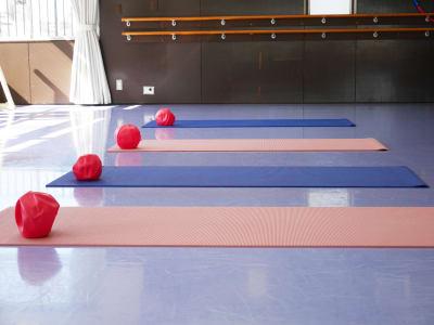 ヨガマット&ピラティスボール - Seraバレエ&ダンススタジオ バレエスタジオ、ダンススタジオの設備の写真