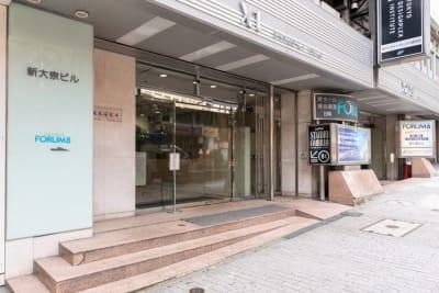 ビル8階に受付があります。 - 渋谷フォーラムエイト 12階 1207会議室の外観の写真