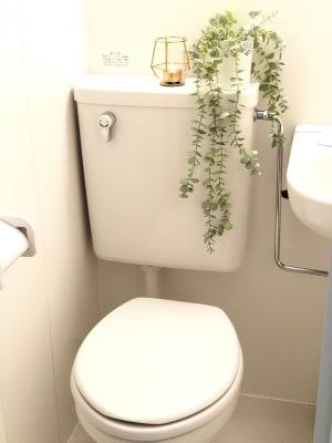 清潔感のあるトイレ - マックステーション成増 貸会議室の室内の写真