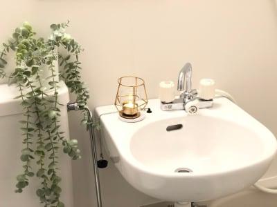 清潔感のある洗面台 - マックステーション成増 貸会議室の室内の写真