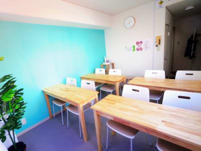 スクール形式のレイアウトも可能です - ルックハイツ新宿 みらいスペース新宿Ⅱの室内の写真