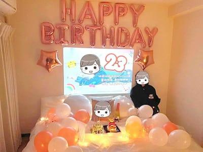 NUMA部屋|池袋 池袋 推し不在の誕生会スペースの室内の写真