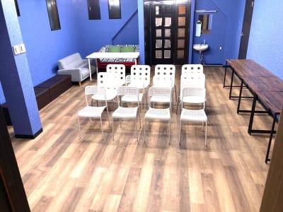 コートホステル イベントスペースの室内の写真