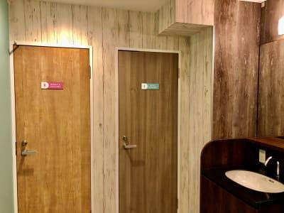 トイレ - 道玄坂NETROOM1.st 鍵付完全個室コワーキングスペースのその他の写真