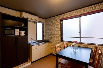 コートホステル officeの室内の写真