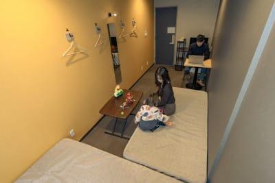 LINNAS Kanazawa テレワークルーム(17㎡)の室内の写真