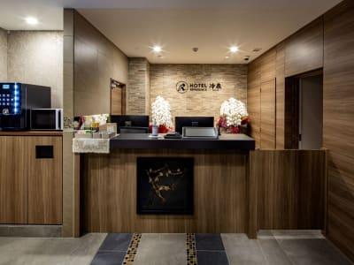 ホテルリファレンス冷泉 デイユース部屋(冷泉)の入口の写真