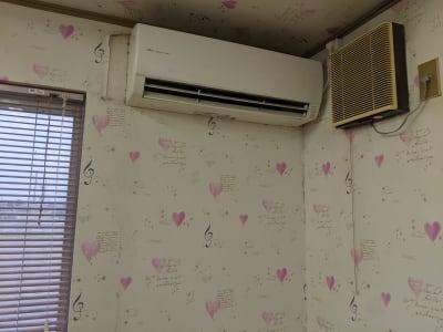 冷暖房有り - ハートサム 「たまむら会場」 スタジオの設備の写真