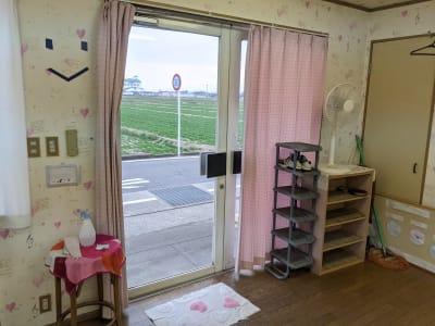 ハートサム 「たまむら会場」 スタジオの入口の写真
