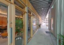 ヘアサロンとコスメショップが隣接しており雰囲気抜群です - コプラス コワーキングカフェ イベントスペースの入口の写真