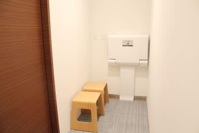 オムツ替えスペース - Flatto日本橋 スタジオフルスペースの設備の写真