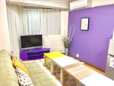 ソファ設置いたしました! - ユイット@名駅 レンタルスペースの室内の写真
