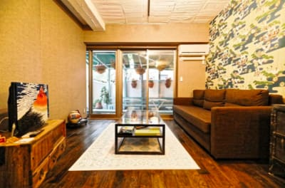 優雅 六本木徒歩7分/豪華な戸建の室内の写真