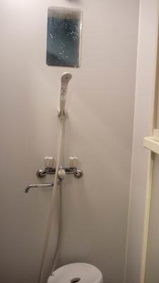 シャワー - 野良犬道場・新道場 稽古場Aの設備の写真