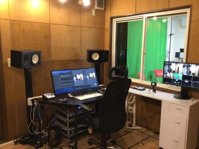 配信機材  - 撮影・配信スタジオ 1Fレンタル撮影・配信スタジオの室内の写真