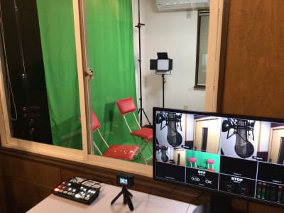 撮影機材  - 撮影・配信スタジオ 1Fレンタル撮影・配信スタジオの室内の写真