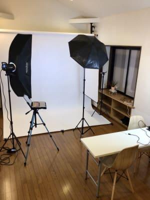 スチール撮影  - 撮影・配信スタジオ 2Fレンタル撮影・配信スタジオの室内の写真