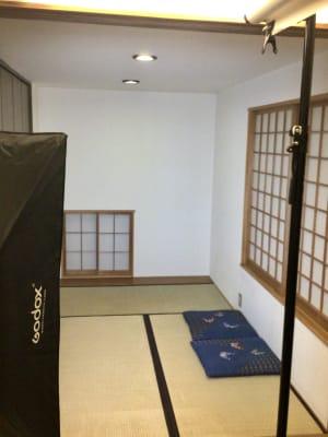 茶室  - 撮影・配信スタジオ 2Fレンタル撮影・配信スタジオの室内の写真
