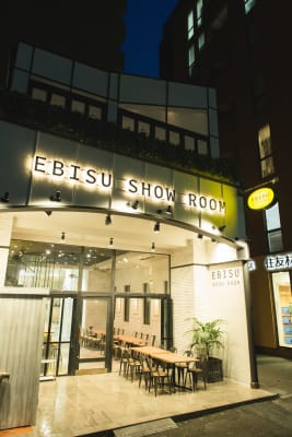 EBISU SHOW ROOM テレワークシートA(ソファー席)の外観の写真