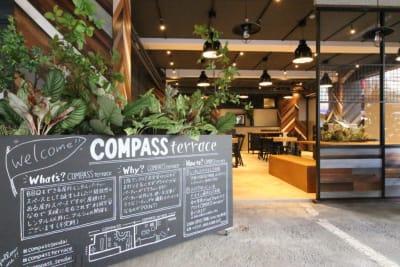 仙台協立第1ビル1階 COMPASSterrace の入口の写真
