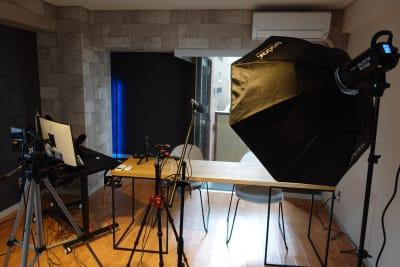 動画スタジオ 五反田ONAIR 動画撮影・配信スタジオの室内の写真