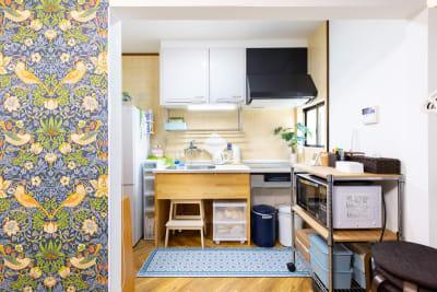充実した設備のキッチンでお菓子つくりも出来ます - プレテコフレ朝潮橋 駅前レンタルミシンスペースの室内の写真
