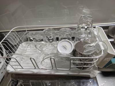 グラスやカップはご自由にご利用ください。 使い終わりましたら、洗ってお戻しください。 - Spa Bloomgarden レンタルサロンの設備の写真