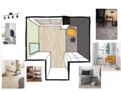 スペースの内装の様子。メインエリアに折りたたみベッドを配置します。 - レンタルサロンSpace of  レンタルサロンSpace ofの室内の写真