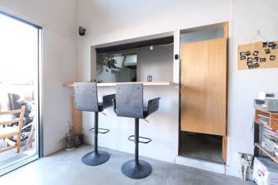 キッチンの利用OK! - スタジオヒュッテ N4 STUDIO 1Fの室内の写真