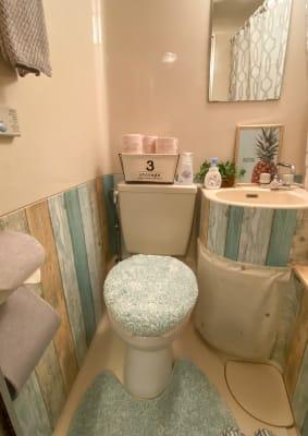 トイレ♪ 音姫、便座除菌アルコールあり✨ - トーノア🏠新大阪 パーティスペースの室内の写真