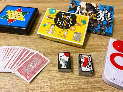ボードゲーム(オセロ、リバーシ、チェス、将棋変更可能)キャットチョコレート、人狼、トランプ、花札 - トーノア🏠新大阪 パーティスペースの室内の写真