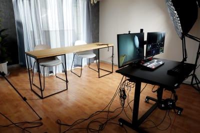 ディレクター気分で撮影可能。 - 動画スタジオ 五反田ONAIR 動画撮影・配信スタジオの室内の写真