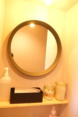 トイレ洗面 - レンタルスタジオ「サンク」 多目的スタジオの設備の写真