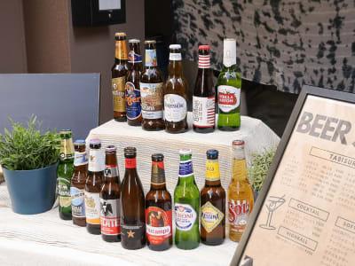 販売例(ドリンク) - ゲストハウス神戸なでしこ屋 神戸南京町の中心部!販売スペースのその他の写真