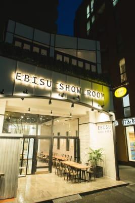 EBISU SHOW ROOM テレワークシートF(カウンター席の外観の写真