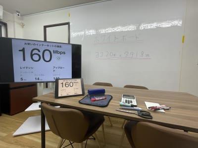 CREO王子駅前 セルフ会議室 24時間営業中♪の室内の写真