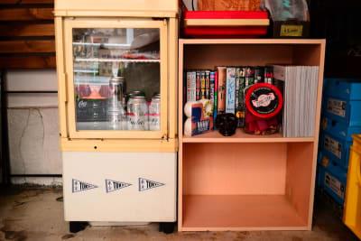 冷蔵庫あり - bums tokyo 店舗(セレクトショップ)の設備の写真