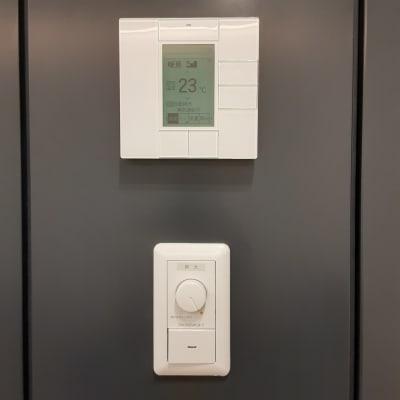 エアコン独立。調光機能あり。 - TOGITOGI 会議室大の設備の写真