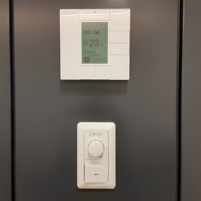 エアコン独立。調光機能あり。 - TOGITOGI 会議室中の設備の写真