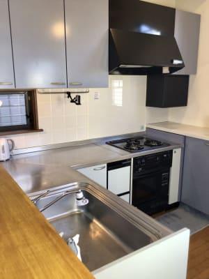 キッチン - 撮影・配信スタジオ 2Fレンタルスペースの室内の写真