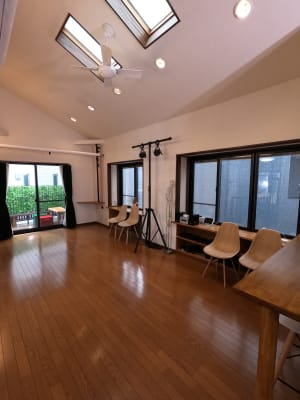 スペース3  - 撮影・配信スタジオ 2Fレンタルスペースの室内の写真
