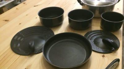 鍋、フライパンなど - 猪股ビル マティーズキッチンの室内の写真